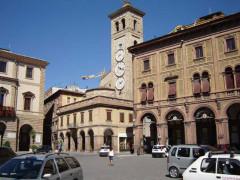 Tolentino, piazza della Libertà
