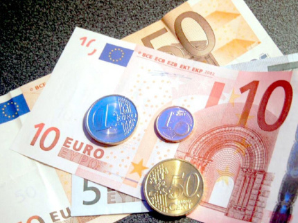 soldi, banconote, monete, euro