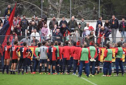 fine partita Jesina-Civitanovese: foto Binci