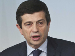 il ministro delle infrastrutture Maurizio Lupi