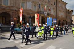 celebrazioni Festa della Liberazione a San Severino Marche del 2014