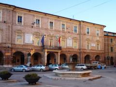 Il municipio di San Severino Marche