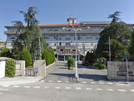 """L'ospedale """"Santissimo Salvatore"""" di Tolentino"""