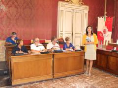 la conferenza stampa sulle iniziative per la festa di San Giuliano a Macerata