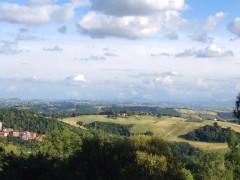 Il panorama sui Sibillini dal Sasso d'Italia, Macerata
