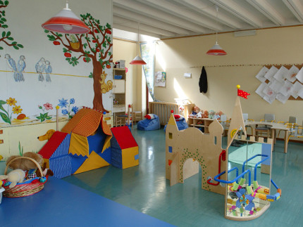 asilo nido, scuola per bambini, scuola dell'infanzia