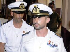 I due marò Massimiliano Latorre e Salvatore Girone