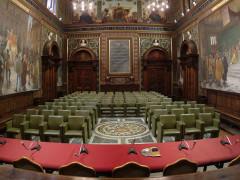 L'aula magna dell'Università di Macerata