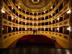 Il teatro G.Persiani di Recanati (interno)