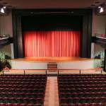 L'interno del teatro Rossini a Civitanova Marche (Mc)