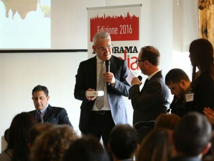 Macerata protagonista a Panorama d'Italia col sindaco Romano Carancini