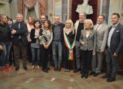 La cerimonia di proclamazione degli eletti a San Severino Marche