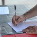 Banchetto informativo e di raccolta firme