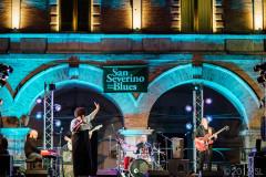 Nora Jean Bruso e Luca Giordano Band sul palco di Cingoli per l'edizione 2016 del San Severino Blues Festival. Ph: Simone Luchetti