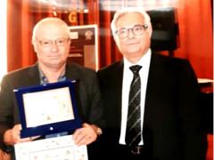 Elvio Angeletti premiato