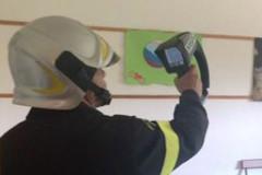 I controlli dei Vigili del fuoco sulle scuole di Macerata dopo il sisma del 24 agosto