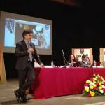La festa dei laureati all'Università di Camerino per la consegna dei diplomi di laurea, il rettore Flavio Corradini