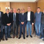 Vasco Errani e Luca Ceriscioli incontrano i sindaci dei comuni del fermano interessati dal terremoto del 24 agosto 2016