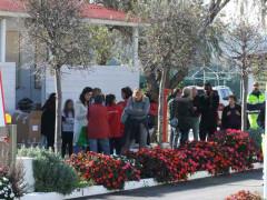 L'accoglienza degli sfollati per il sisma del 30 ottobre a Porto Recanati