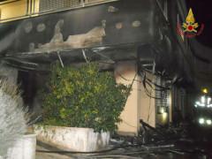 L'incendio a Recanati