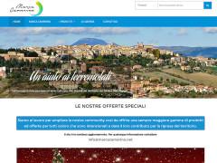 L'homepage del sito web Marcacamerino.net