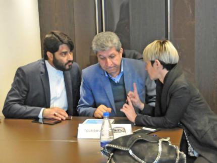 Delegazione Iran nelle Marche