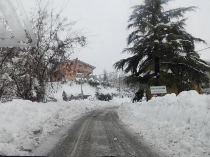 Situazione strade nella provincia di Macerata