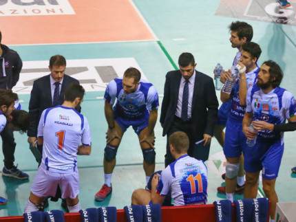 Time out del Volley Potentino