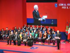 Visita del Presidente Mattarella all'Unicam