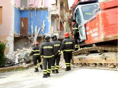 Demolizione Via Piave Tolentino