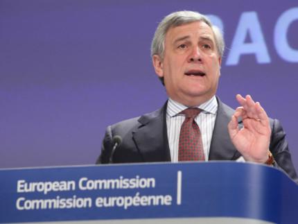Presidente del Parlamento Europeo Antonio Tajani