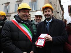 Ministro Franceschini a Camerino