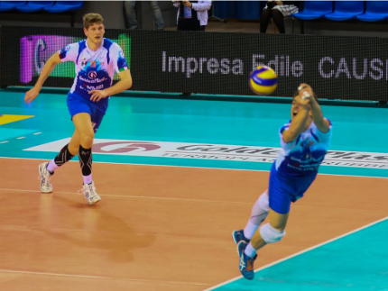 Azione del Volley Potentino