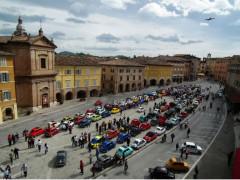 Raduno Fiat 500 a San Severino Marche