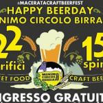 Happy Beerday a Macerata