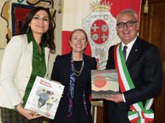 La visita di Kelly Degnan a Macerata