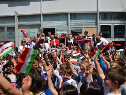 Inaugurata la scuola antisismica di San Severino Marche