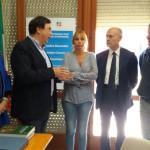 L'Europarlamentare Mussolini a Castelraimondo