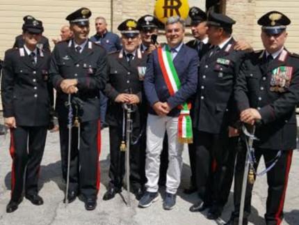 Cerimonia per i Carabinieri di Castelraimondo