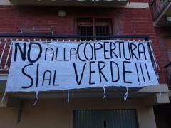 La protesta dei residenti di Viale Vittorio Veneto di Tolentino