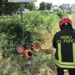 Incidente con il trattore a Montecassiano