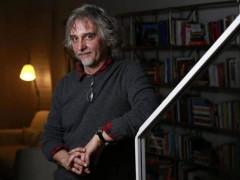 Lo scrittore Ugo Cornia