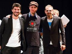 Il vincitore del Premio Massimo Urbani Federico Milone