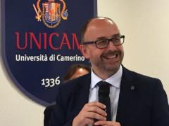 Il nuovo rettore di Unicam Claudio Pettinari
