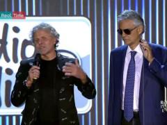 Andrea Bocelli e Renzo Rosso