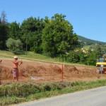 Lavori di urbanizzazione nell'area San Michele a San Severino Marche