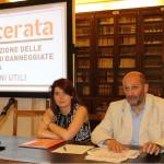 Gli assessori Paola Casoni e Narciso Ricotta