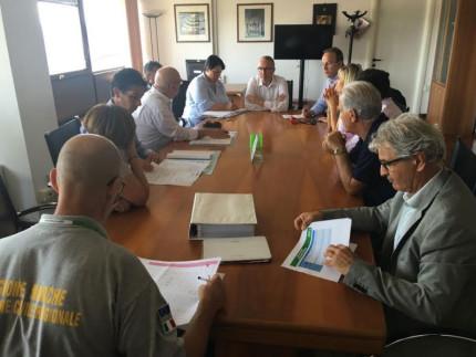 Il punto della situazione a Camerino con il Presidente Ceriscioli e il Sindaco Pasqui