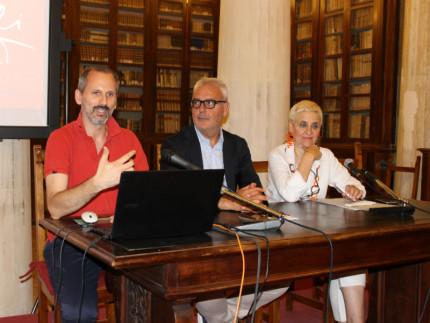 La conferenza stampa per la presentazione degli Aperitivi Culturali 2017 a Macerata