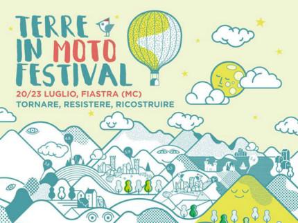 La locandina del Terre in Moto Festival a Fiastra